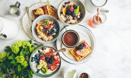 CBD oil breakfast