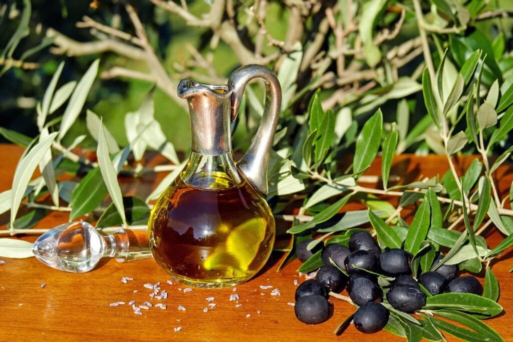 Prominent foods of mediterranean diet